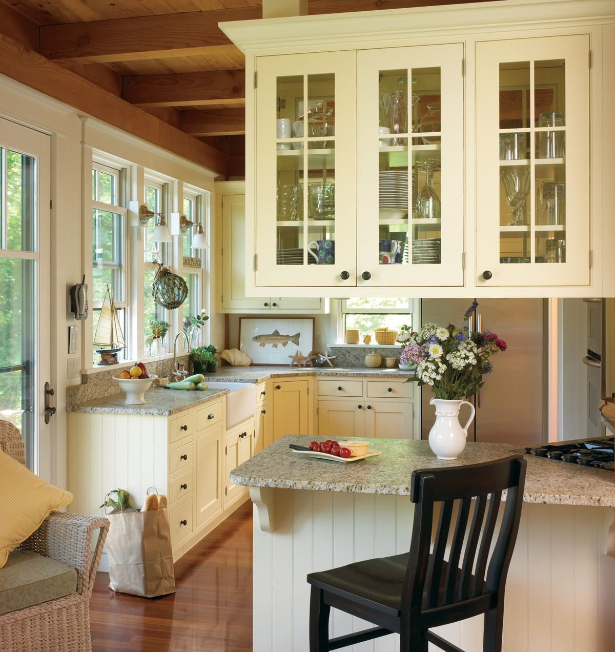 10 Beautiful Dream Kitchens Cottage French Country and . & French Country Kitchen Cabinets - Visual Hunt