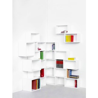 10 Cool Corner Bookshelves Ideas for Space Saving ...