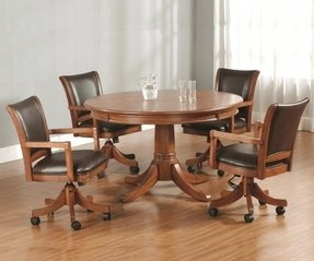 50 Dinette Sets With Caster Chairs You