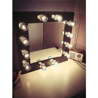 100+ [ Vanity Mirror With Light Bulbs ] | Ideas
