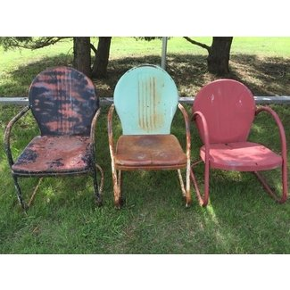 1000 Ideas About Metal Lawn Chairs On Pinterest Vintage