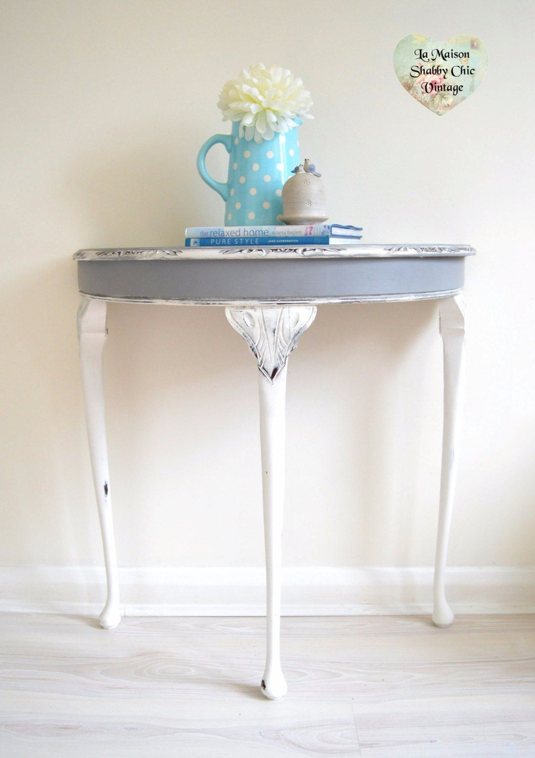 1000+ Ideas About Shabby Chic Console Table On Pinterest .