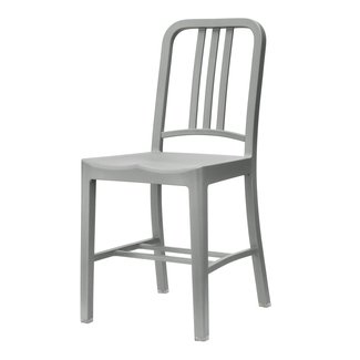 111 Navy Chair Flint Grey Stol | Emeco | Länna