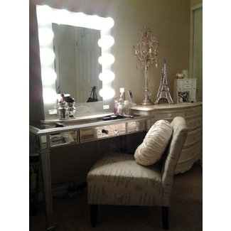 15 Fantastic Vanity Mirror with Lights for Bedroom Ideas