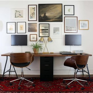 17 Best ideas about Two Person Desk on Pinterest |