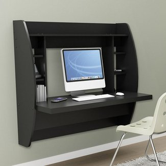 17 Best ideas about Wall Mounted Computer Desk on ...