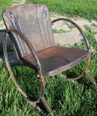 Exceptionnel 17 Best Images About Old Rusty Lawn Chairs On Pinterest
