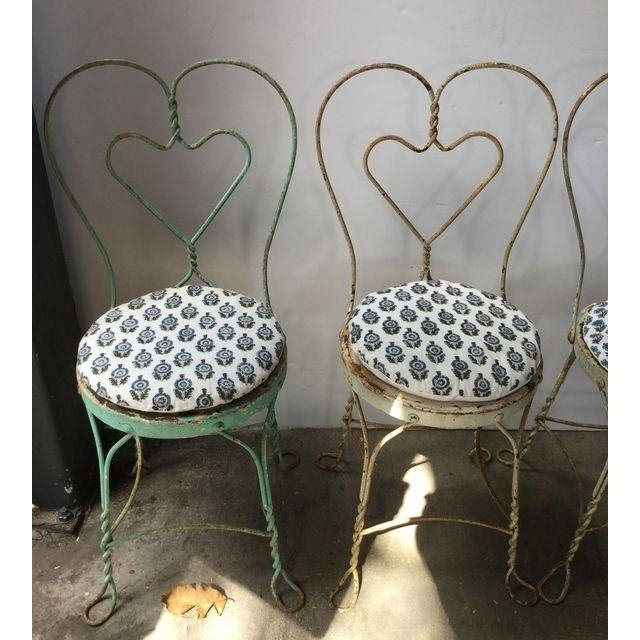 1950s Ice Cream Parlor Chairs   Pair | Chairish