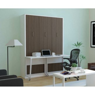 $2,399.98 Aliance Murphy Bed with Desk | Anthracite