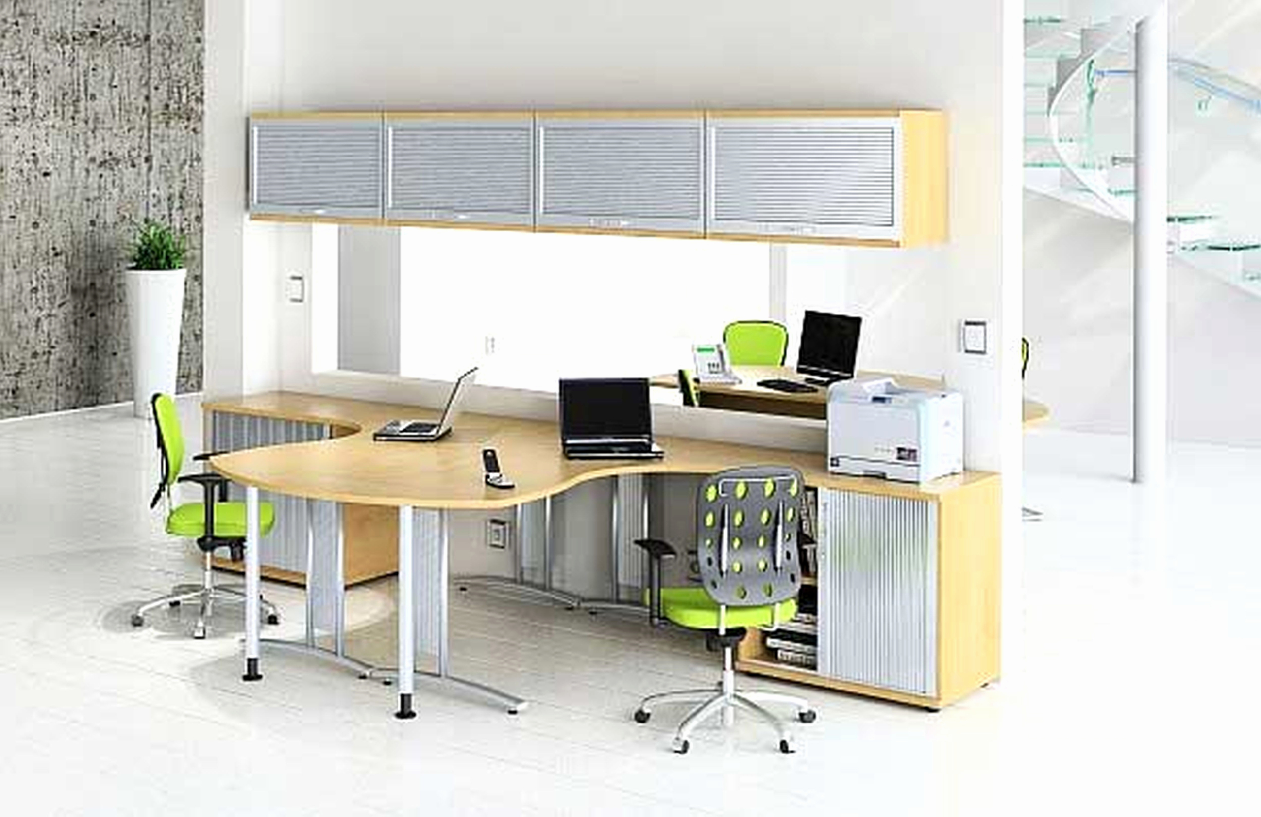 Charming 2 Person Desk Home Office Furniture   Useful Tips Of