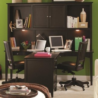 2 Person Desk Home Office - Hostgarcia