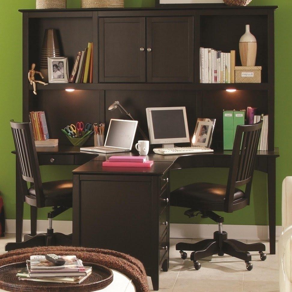 2 Person Desk Home Office   Hostgarcia