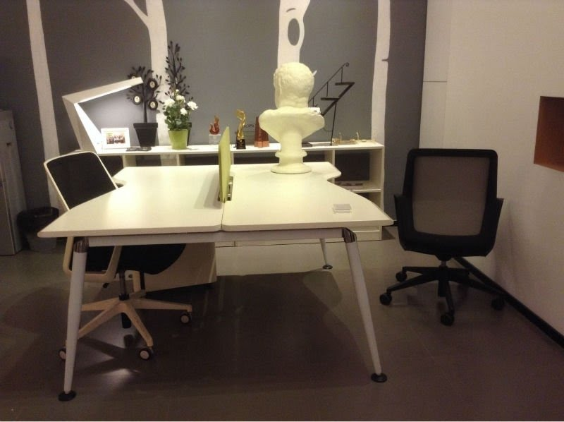 Office desk for 2 Monitor Person Office Deskmdf Employee Office Furniture Buy Visual Hunt Person Desk Visual Hunt