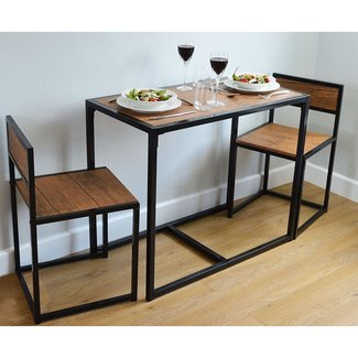 2 Person Space Saving, Compact, Kitchen Dining table ...