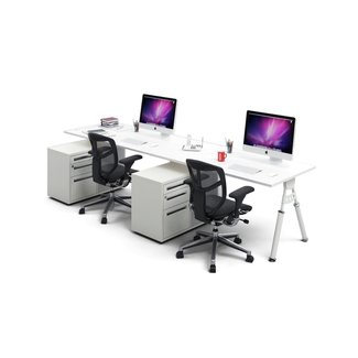 2 Person Workstation Desk - Home Furniture Design