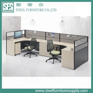 2 Person Workstation Staff Desks Furniture Design Office ...