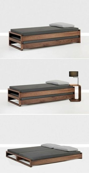 Space Saving Beds You Ll Love In 2021, Queen Bed Frame For Small Space