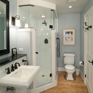 25+ best ideas about Corner showers on Pinterest | Small