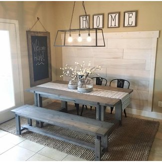 25+ Best Ideas about Dining Table With Bench on Pinterest