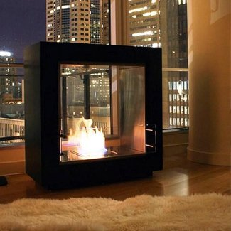 25+ best ideas about Standing Fireplace on Pinterest ...