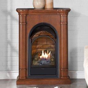 Stupendous Corner Ventless Gas Fireplace Visual Hunt Download Free Architecture Designs Embacsunscenecom