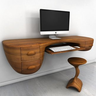 25+ best ideas about Wall Mounted Computer Desk on ...