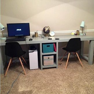 25 Best Two Person Desk Ideas On Pinterest 2