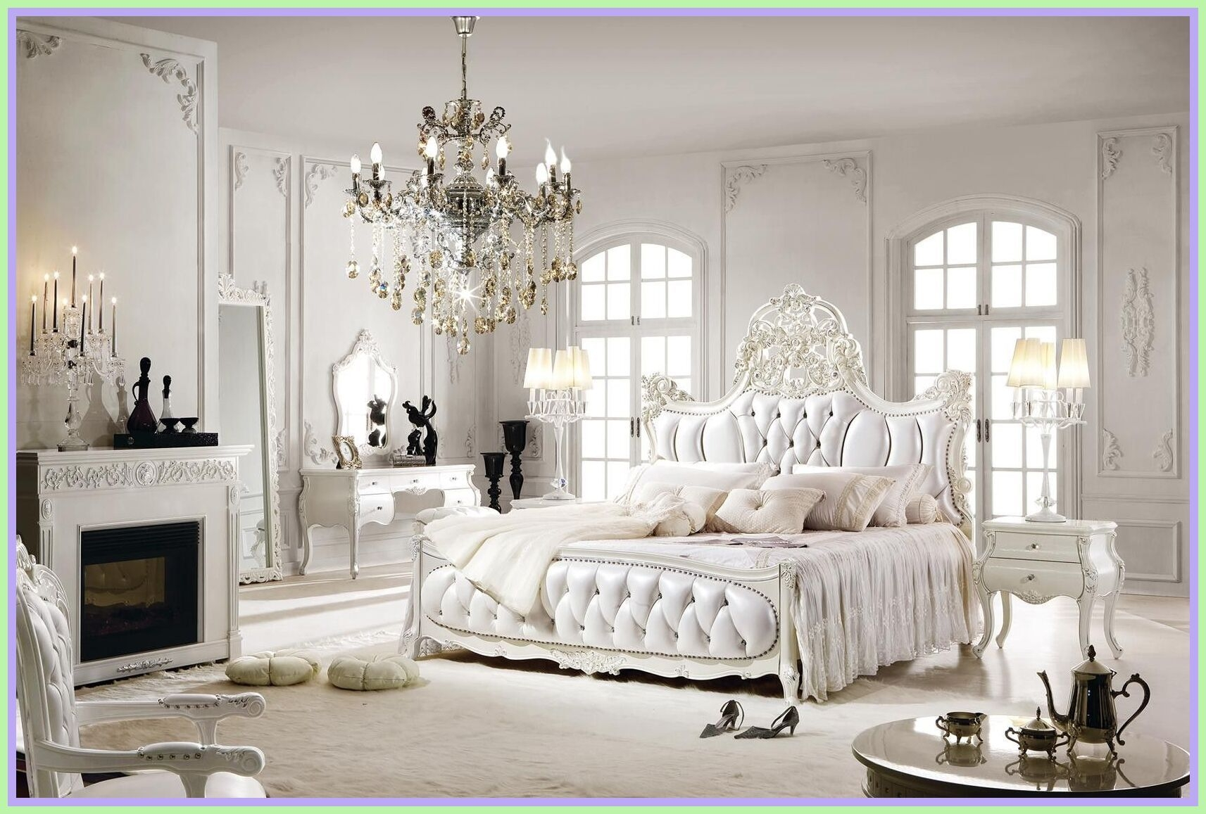 25 Luxury French Provincial Bedrooms (Design Ideas .
