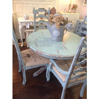 26 Ways To Create A Shabby Chic Dining Room Or