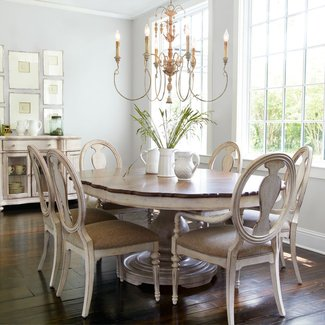 28 Shabby Chic Dining Room Table