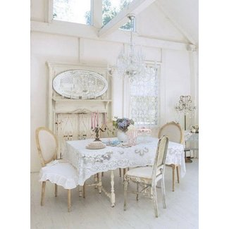 28+ [ Shabby Chic Dining Room Table ] | Dining