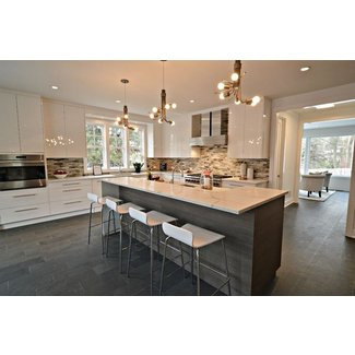 35 Large Kitchen Islands with Seating (Pictures ...