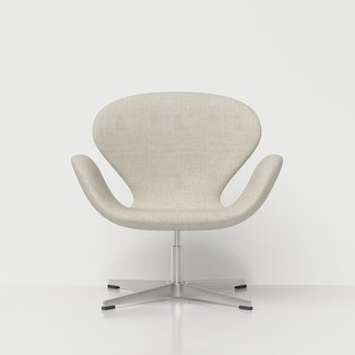 3D Arne Jacobsen Swan Chair - High quality 3D models