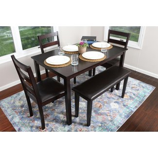 1e01b6a444088 4 Person Dining Table Set