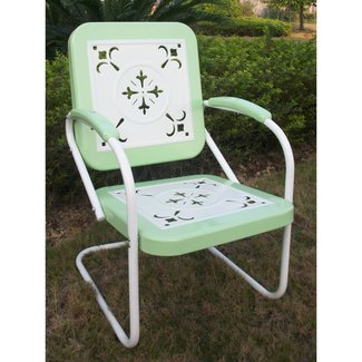 4D Concepts Metal Chair Retro