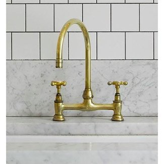 5 Favorites: Brass Faucets for the Kitchen: Remodelista