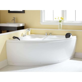 "52"" Kauai Corner Acrylic Tub - Bathroom"