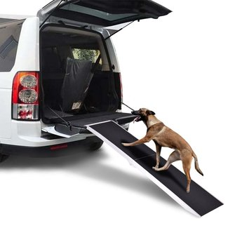 6Ft Portable Aluminum Folding Pet Paw Safe Dog Ramp Ladder