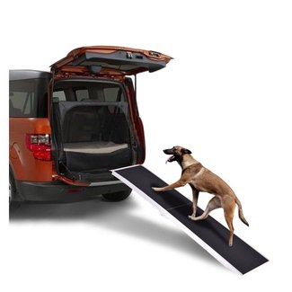7Ft Portable Aluminum Folding Pet Paw Safe Dog Ramp Ladder