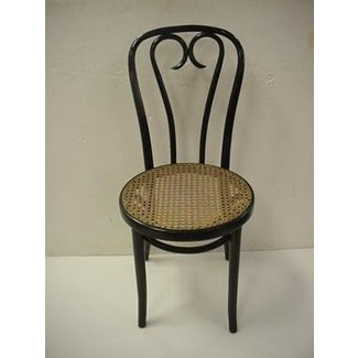 8 Mahogany Bentwood Ice Cream Parlor Chairs: : Lot 1005