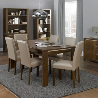 8 Pc Dining Room Set. Queen Anne Bedroom ... Seater Photo
