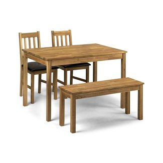 Abdabs Furniture - Coxmoor Oak Dining Table Bench Set