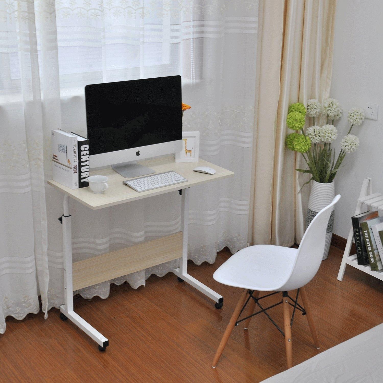 Adjustable Lap Table Portable Laptop Computer Stand Desk Cart   23.6u201c  Mobile Stand Up Desk