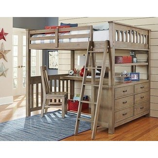 Adult Full Size Loft Bed With Desk – home ...