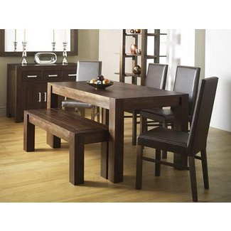 Amazing Feature Of The Dining Table With Bench