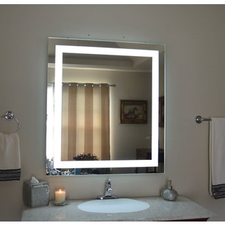 Amazon.com: Wall Mounted Lighted Vanity Mirror LED ...