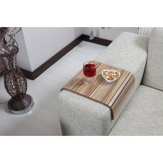 Amazoncom: Sofa Tray Table ( European Walnut V2 ), Sofa
