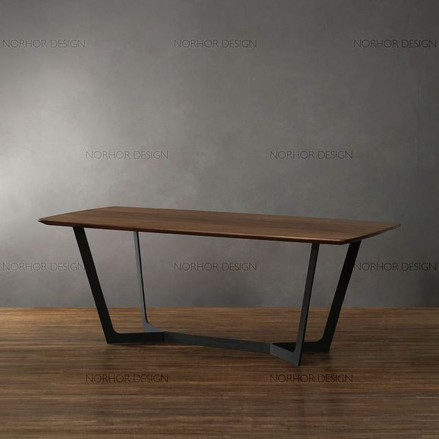 American Country Vintage Wrought Iron Coffee Table Wood .