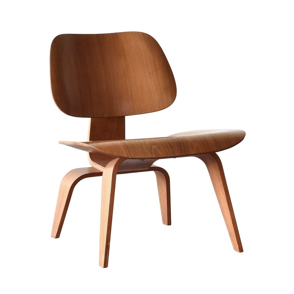 American LCW Walnut Lounge Chair By Charles U0026 Ray Eames