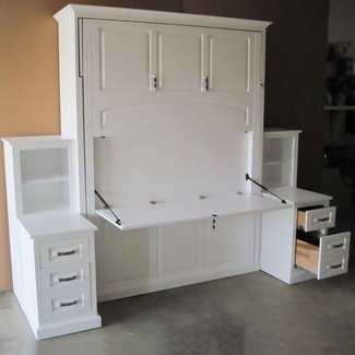 Amish Murphy Bed | Solid Wood Murphy Bed | Amish